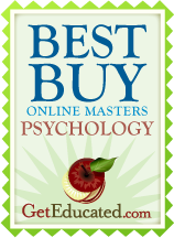 Affordability rankings of the best online master's in psychology