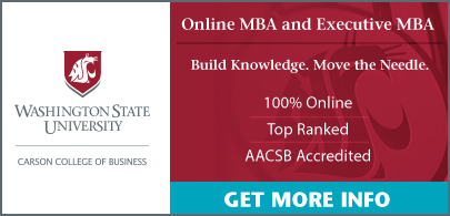 Washington State University Online MBA Executive MBA