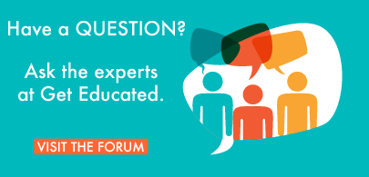Get expert advice from GetEducated in the Distance Learning Forum