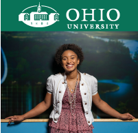 Ohio University College of Business online student